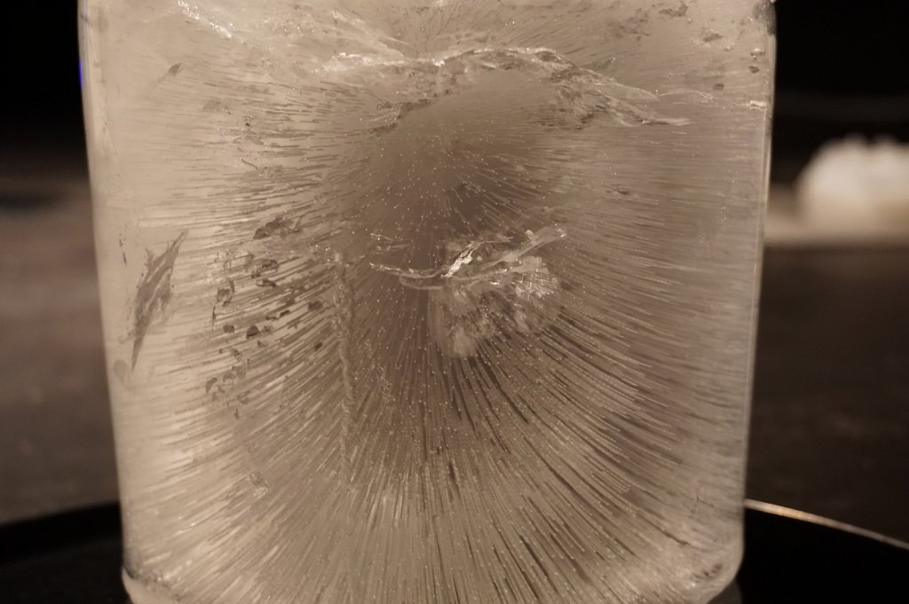 liquid ice formations